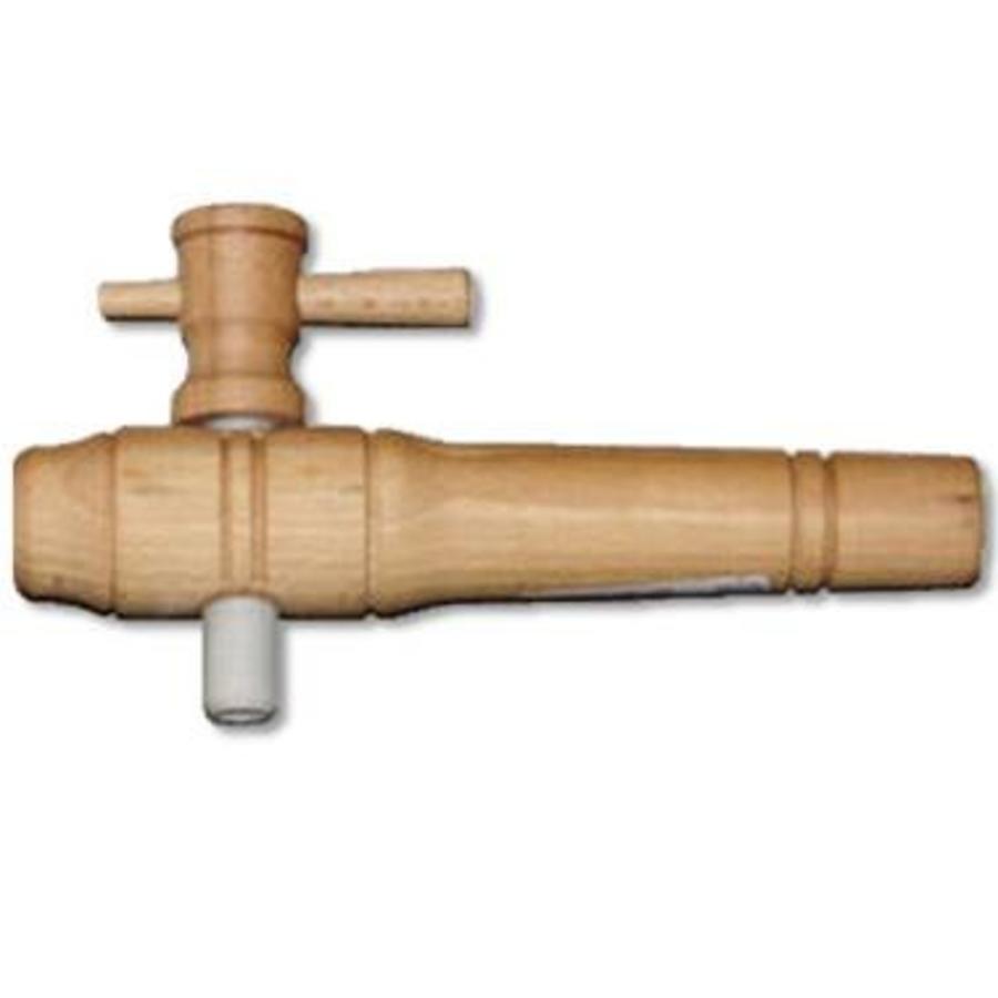 Houten kraan 20cm-1