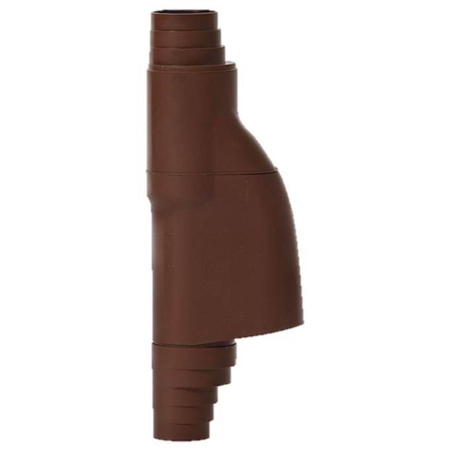 Bladscheider PVC bruin 70-90mm-1