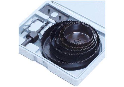 Gatenzaag set 63-76-88-102-127mm
