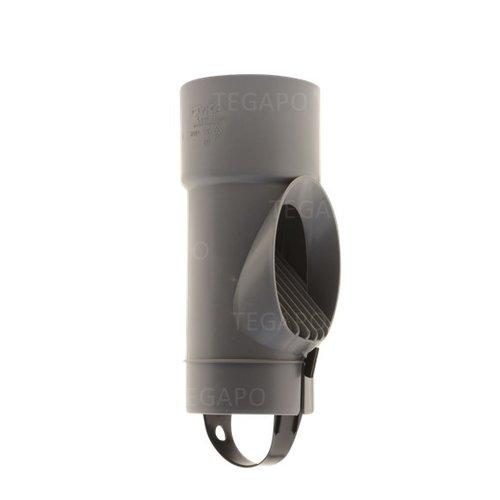 Bladscheider PVC grijs 80mm