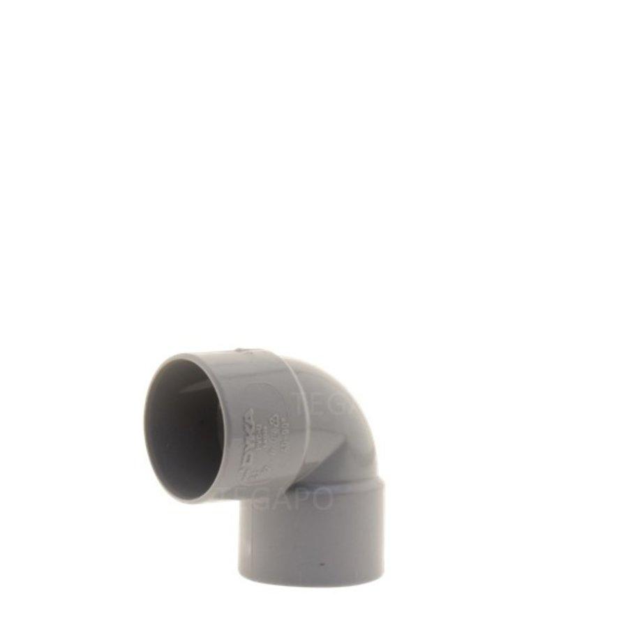 PVC bocht 90 graden 40mm m-m-1