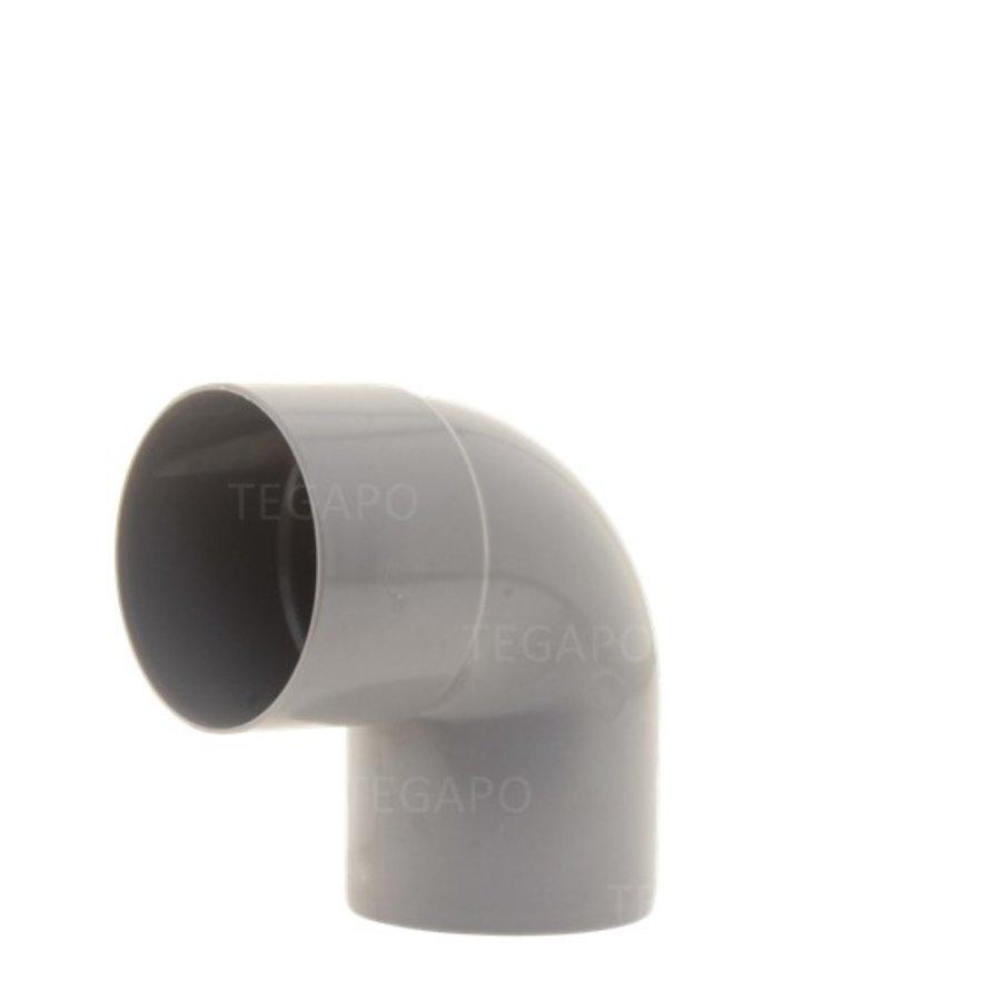 PVC bocht 90 graden 60mm m-s-1