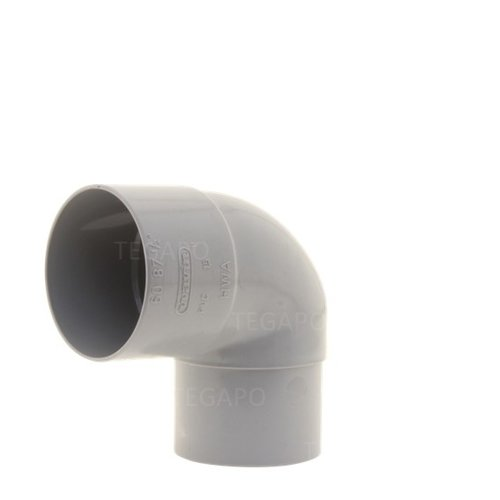 PVC bocht 90 graden 60mm m-vjs