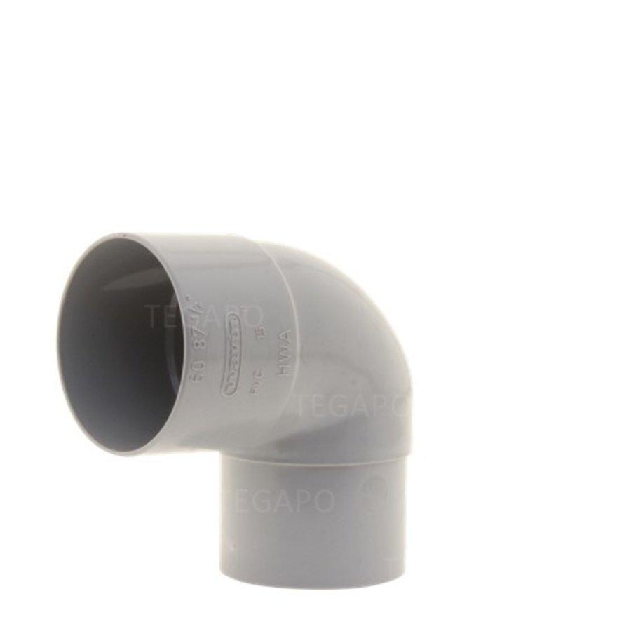 PVC bocht 90 graden 60mm m-vjs-1