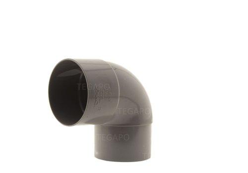 PVC bocht 90 graden 80mm m-vjs