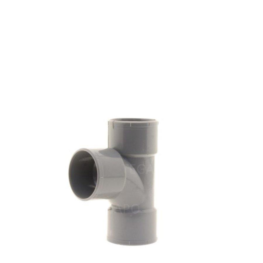 PVC T-stuk 40mm m-m-m-1