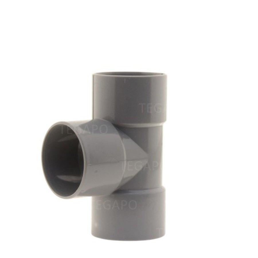 PVC T-stuk 50mm m-m-m-1