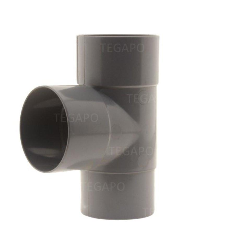 PVC T-stuk 70mm m-m-vjs-1