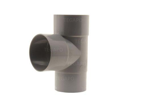 PVC T-stuk 80mm m-m-vjs