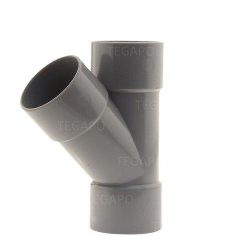 PVC Y-stuk 50mm m-m-m