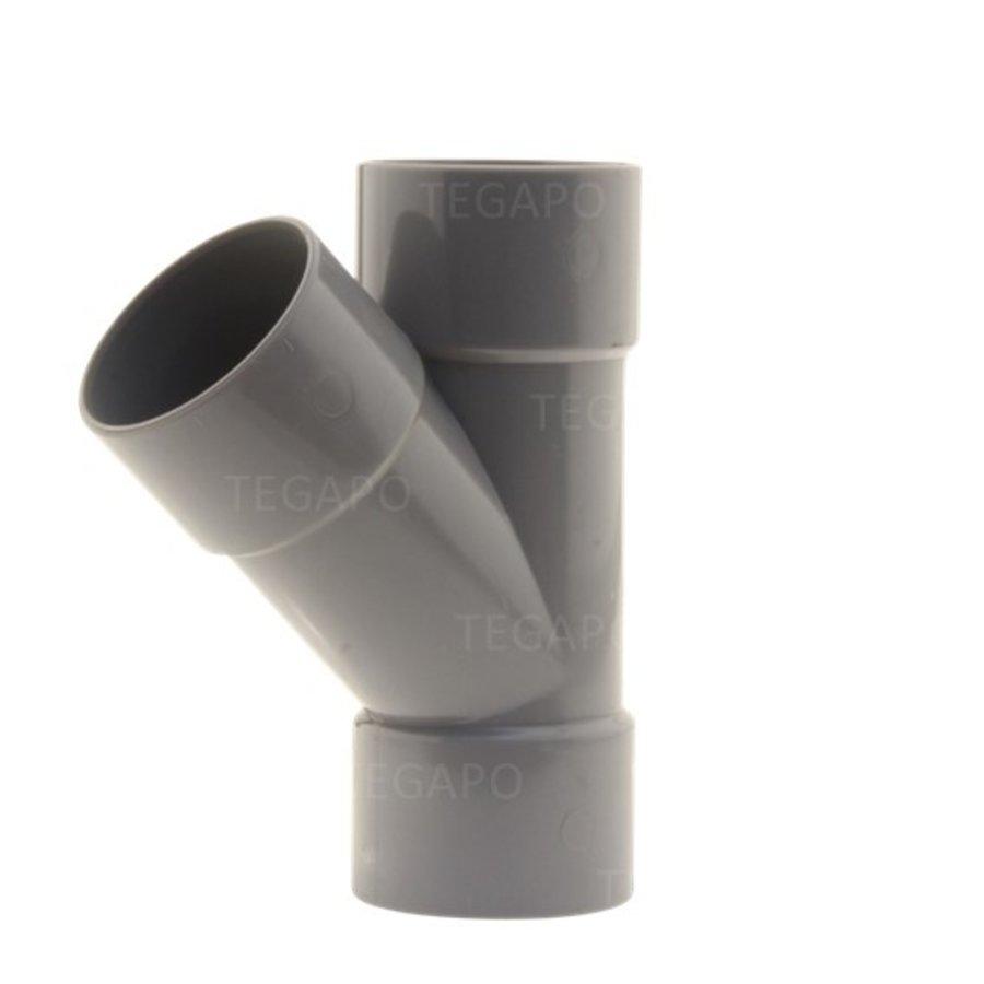 PVC Y-stuk 50mm m-m-m-1