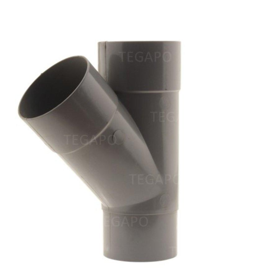 PVC Y-stuk 70mm m-m-vjs-1
