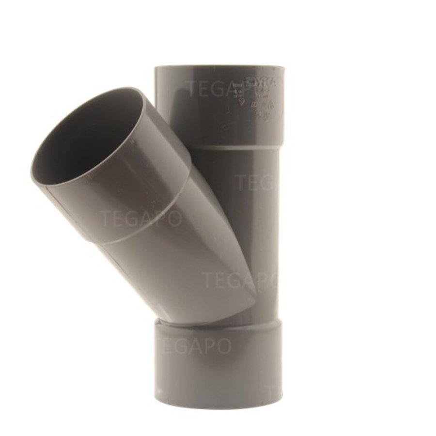 PVC Y-stuk 75mm-1