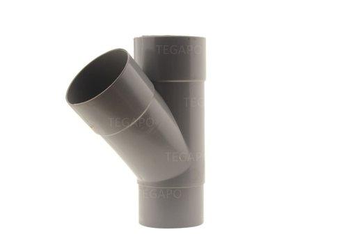 PVC Y-stuk 80mm m-m-vjs