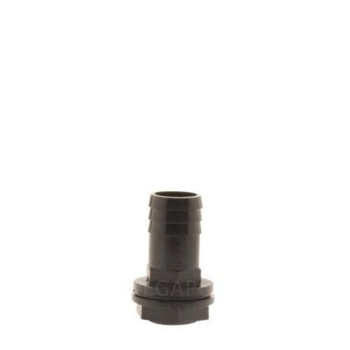 PP pilaar 25mm recht compleet