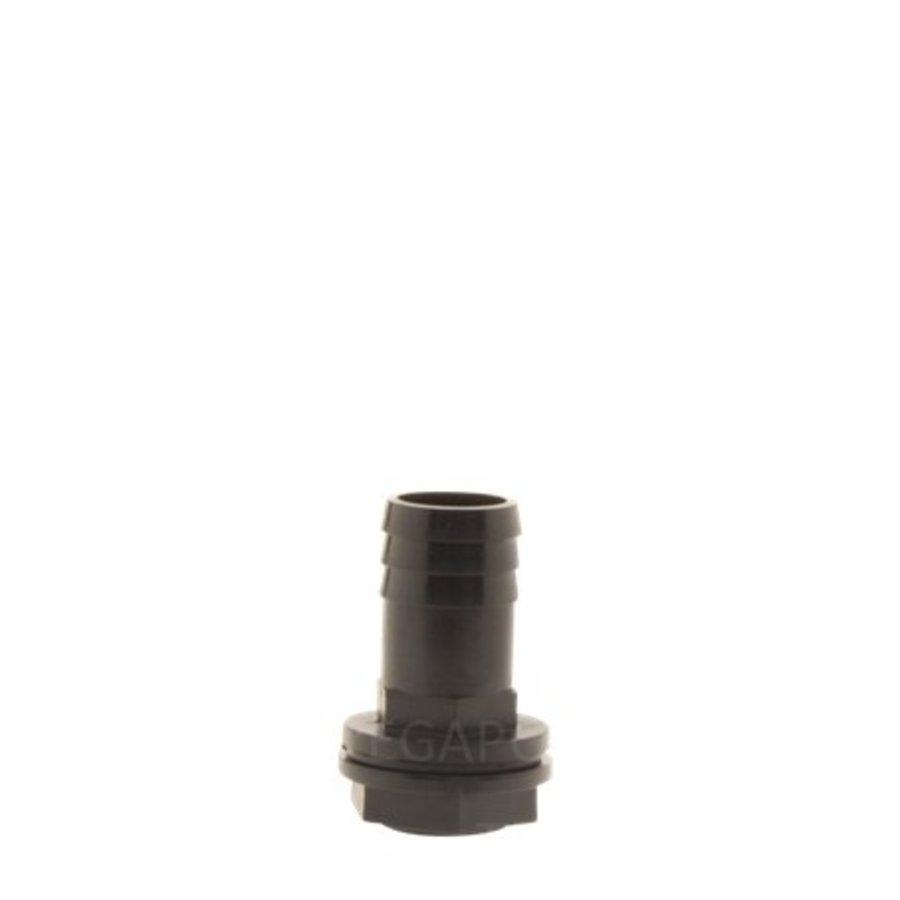 PP pilaar 25mm recht compleet-1