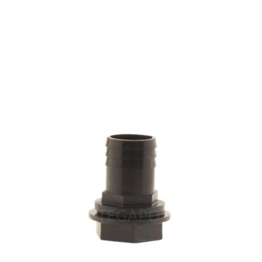 PP pilaar 32mm recht compleet-1