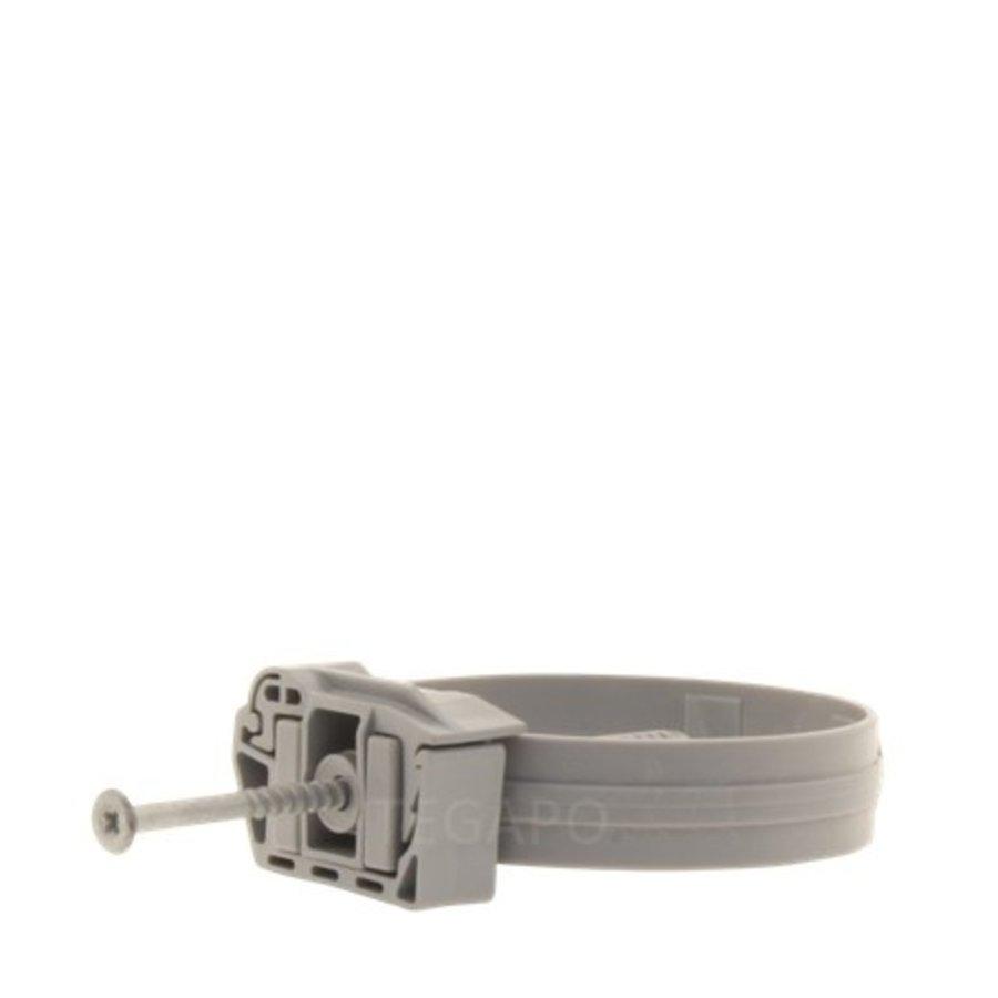 PVC beugel 80mm grijs-1