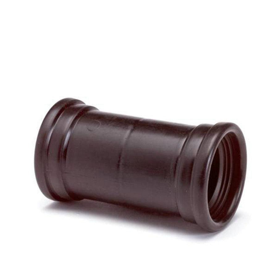 PP verbindingsstuk 40mm m-m-1