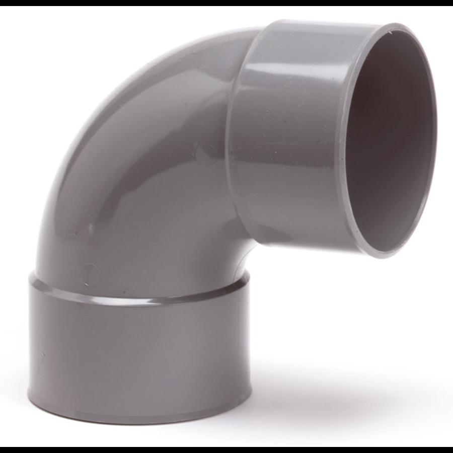 PVC bocht 90 graden 50mm-1