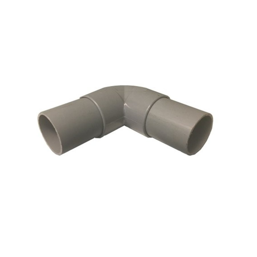 PVC 40mm 90 graden bocht-1