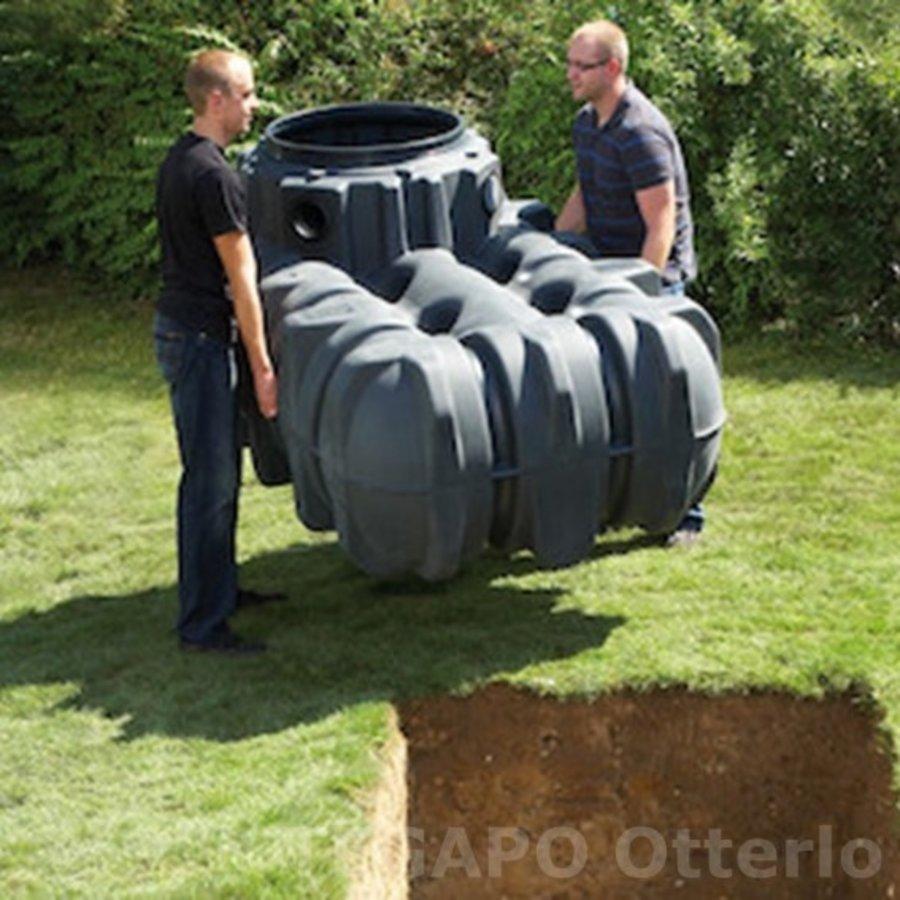 Regenwater opvangpakket 1500 liter met pomp en filter compleet-4