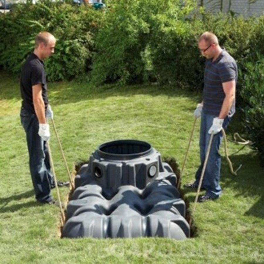 Regenwater opvangpakket 5000 liter met pomp en filter compleet-5