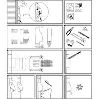 thumb-Bladscheider PVC bruin 70-90mm-3