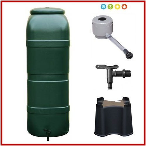 RainSave 100 liter groen 4-season promo set
