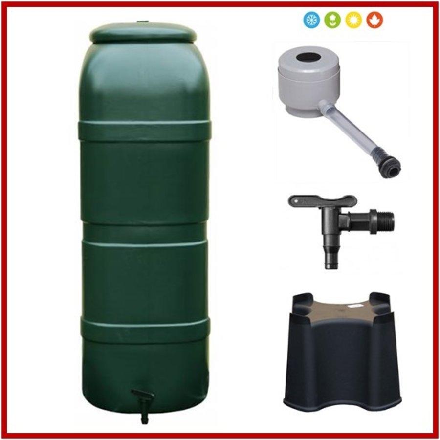 RainSave 100 liter groen 4-season promo set-1