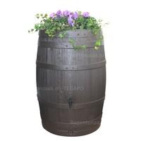thumb-Regenton Wood Flower Bowl 400 liter-1