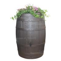 thumb-Regenton Wood Flower Bowl 400 liter-2