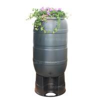 thumb-Regenton Flower Bowl 210 liter met zwart onderstel-1