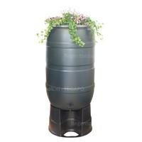 thumb-Regenton Flower Bowl 210 liter met zwart onderstel-2