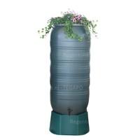 thumb-Regenton Flower Bowl 270 liter met groen onderstel-2