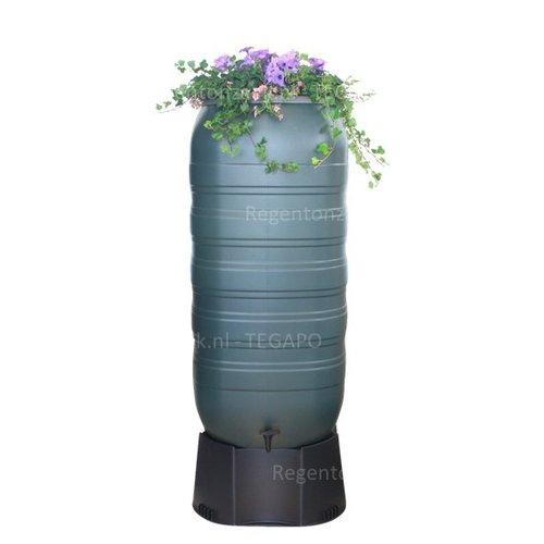 Regenton Flower Bowl 270 liter met zwart onderstel