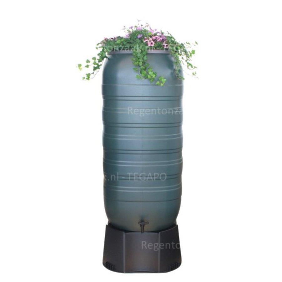 Regenton Flower Bowl 270 liter met zwart onderstel-2
