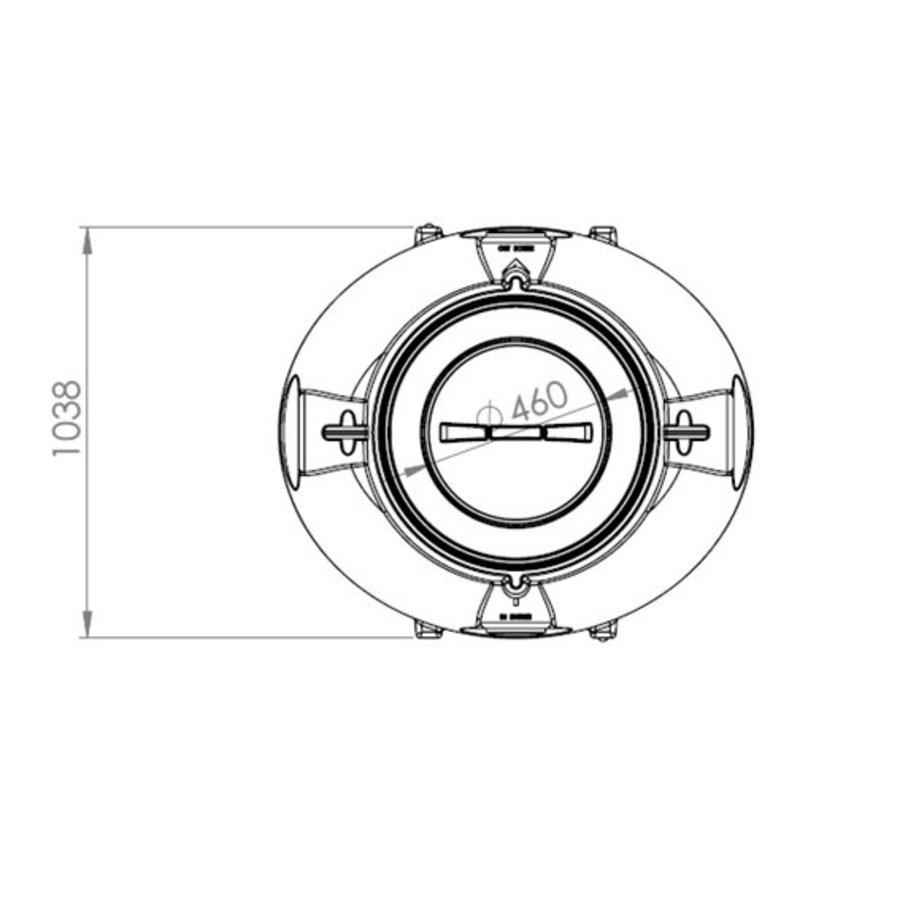 Watertank BDT 1000 liter ondergronds-3