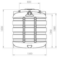 thumb-Watertank BDT 1500 liter ondergronds-2