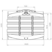 thumb-Watertank BDT 3300 liter ondergronds-2