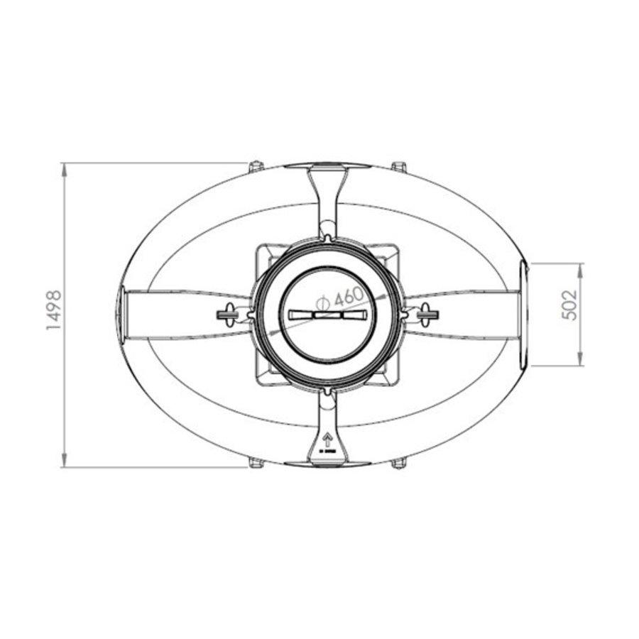 Watertank BDT 3300 liter ondergronds-3