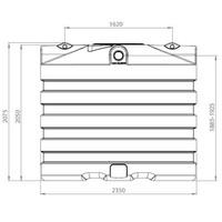 thumb-Watertank BDT 6000 liter ondergronds-2