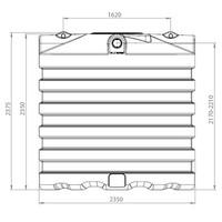thumb-Watertank BDT 7500 liter ondergronds-2