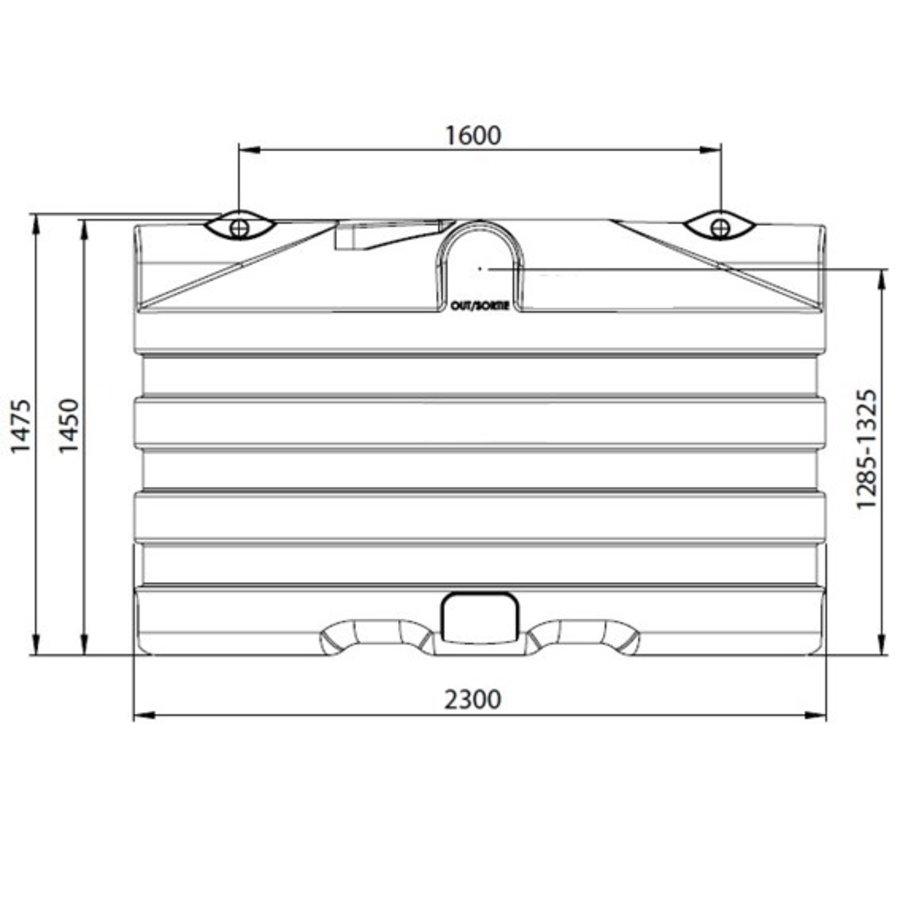 Watertank PRM 4000 liter ondergronds-2
