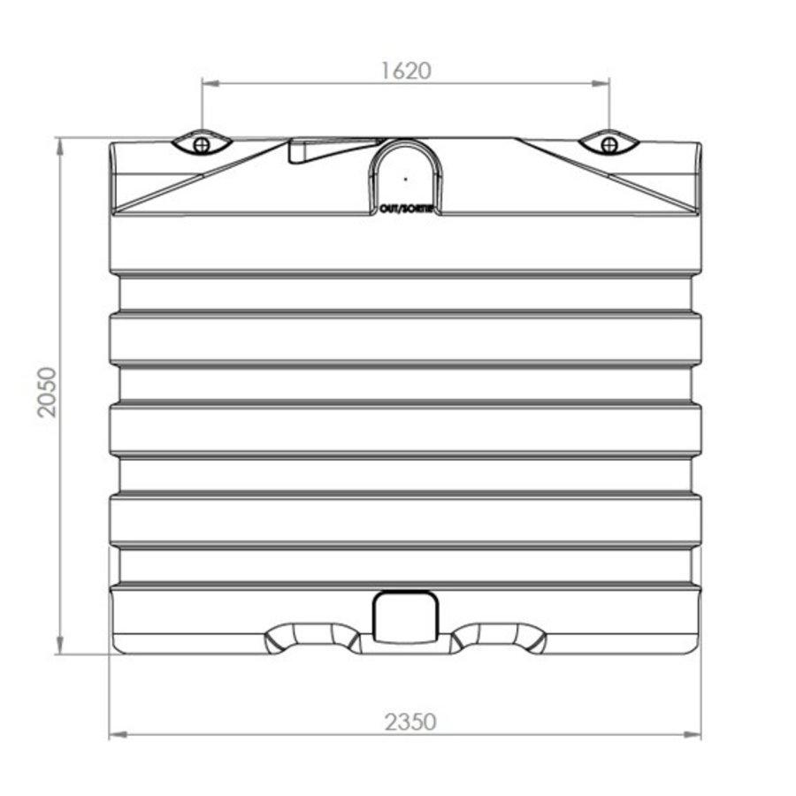 Watertank PRM 6000 liter ondergronds-2