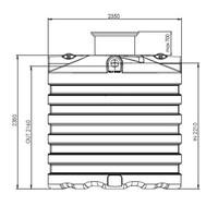 thumb-Watertank PRM 7500 liter ondergronds-2