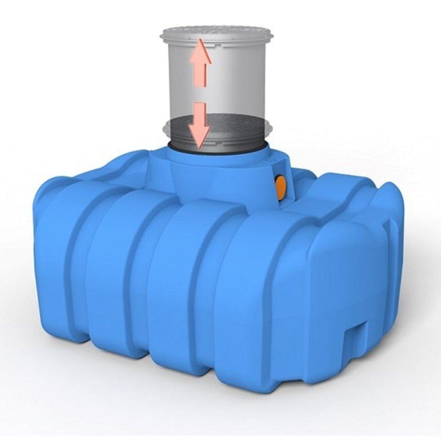 Watertank ERD 1500 liter ondergronds-2
