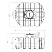 thumb-Watertank ERD 1500 liter ondergronds-3