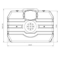 thumb-Watertank ERD 3000 liter ondergronds-3