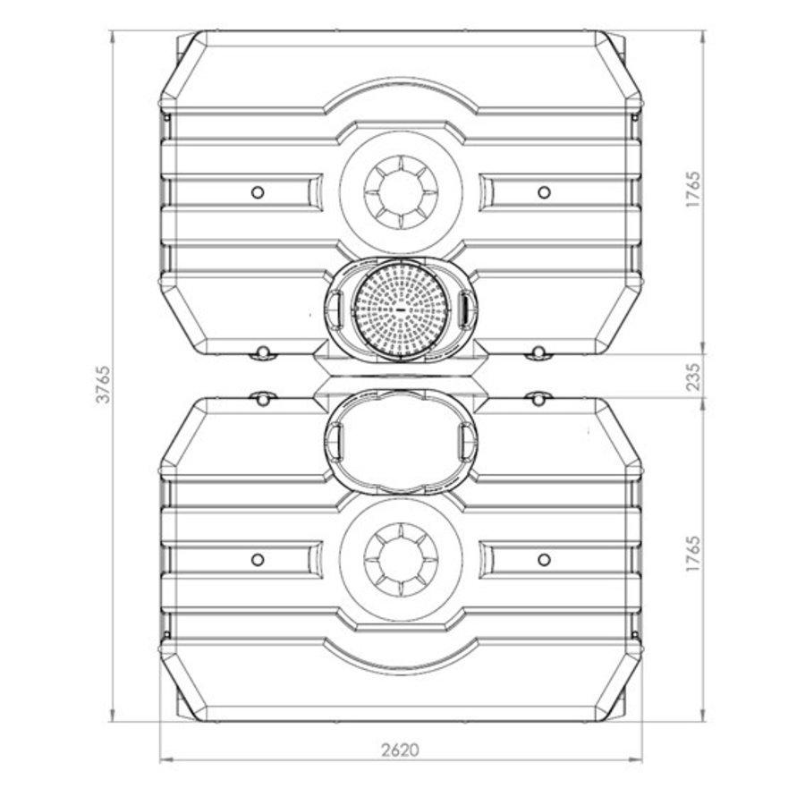 Watertank ERD 6000 liter ondergronds-2